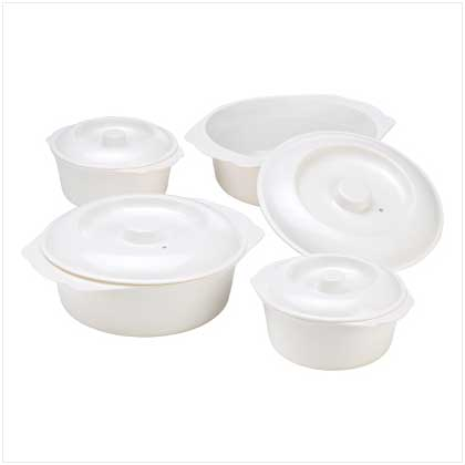 Microwave Cooking Bowl Set
