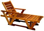 American Woods 1685 Cedar Adirondack Chair with Ottoman Gift Set